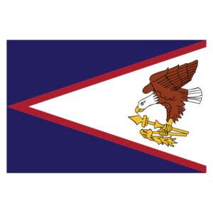 Vlagsticker Amerikaans Samoa