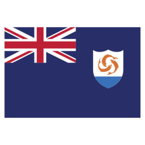 Vlagsticker Anguilla
