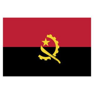Vlagsticker Angola