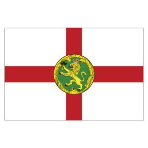 Vlagsticker Alderney