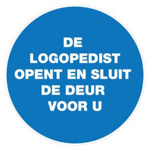 De Logopedist opent en sluit