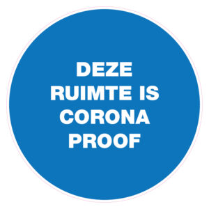 Deze ruimte is corona-proof