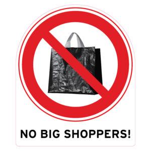 No Bigshoppers