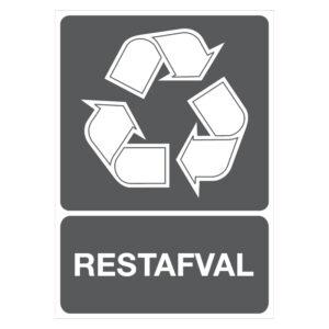 Recycling restafval