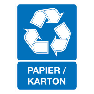 Recycling Papier-Karton