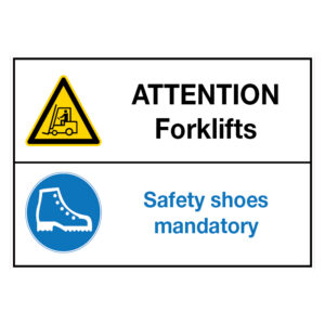 Attention Forklifts Safetyshoes