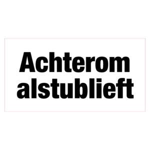 Achterom_aub