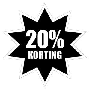 20prc Korting