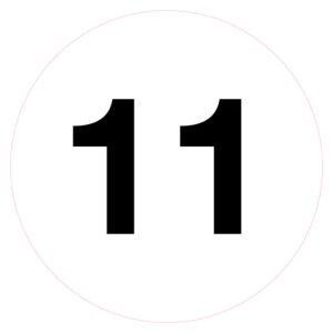 Magazijnsticker 11