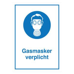 Gasmasker Verplicht