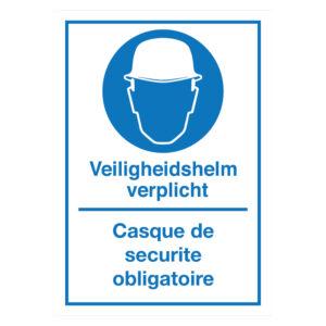 Veiligheidshelm-Casque de securite obligatoire